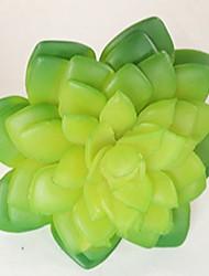 abordables -1 Rama Plástico Plantas Flor de Mesa Flores Artificiales