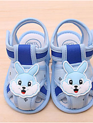 cheap -Baby Shoes Fabric Spring Fall Comfort First Walkers Sandals For Casual Pink Blue Beige