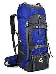 cheap -60 L Backpacks Hunting Climbing Camping / Hiking / Caving Scratch-resistant Waterproof Wearable Durable Anti-tear 600D Polyester