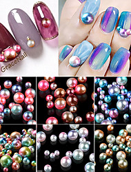 cheap -1 Nail Jewelry Round Fashion Lovely Cute High Quality Daily Nail Art Design