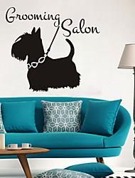 economico -Animali Adesivi murali Adesivi murali animali Adesivi decorativi da parete,Carta Decorazioni per la casa Sticker murale For Finestra