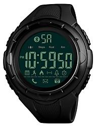 Недорогие -SKMEI Муж. Кварцевый Наручные часы Спортивные часы Китайский Bluetooth Календарь Секундомер Защита от влаги Педометры Хронометр PU Группа