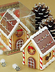 Christmas party gift decoration creative romantic Christmas Eve Christmas gingerbread house candle small gift