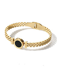 cheap -Women's Bangles - Korean, Fashion Bracelet Gold / Rose Gold For Gift / Daily / Date