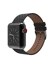 economico -per la serie di orologi da mela serie 3 2 1 braccialetti in polso di ricambio per cuoio genuino 38 42mm