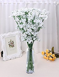 cheap -Artificial Flowers 5 Pastoral Style Baby Breath Tabletop Flower / Not Included