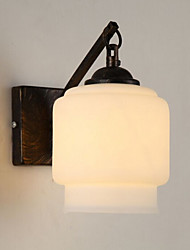 cheap -Lantern Modern/Contemporary Wall Sconces For Glass Wall Light 220V 40W
