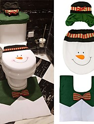 cheap -toilet seat Holiday Classic Theme Fairytale Theme Poly/Cotton Christmas Decoration