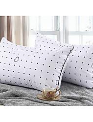 abordables -oreiller fleur soins de santé cervicale oreiller plume en forme de u oreiller