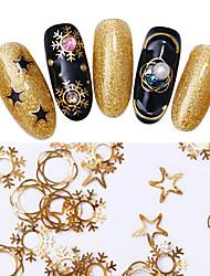 Недорогие -Украшения искусства ногтя ювелирных изделий Подвески Наклейки