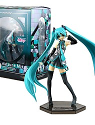cheap -Anime Action Figures Inspired by Vocaloid Hatsune Miku PVC 19 CM Model Toys Doll Toy