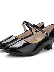 "cheap -Women's Modern Patent Leather Sneaker Performance / Customized Heel Black 1"" - 1 3/4"" Customizable"