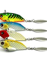 economico -4 pc Esche rigide g / Oncia mm pollice, Metallo Pesca di mare Pesca a mosca Pesca a mulinello Spinning Pesca a jigging Pesca di acqua