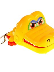 cheap -Gags & Practical Jokes Crocodile Dentist Toys Key Chain Biting Hand Crocodile Pieces Kids Adults' Gift