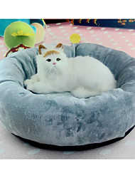 cheap -Cat Dog Bed Pet Cushion & Pillows Solid Soft washable Gray For Pets