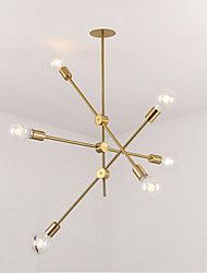 cheap -Rustic/Lodge Country Traditional/Classic Chandelier For Living Room Dining Room Study Room/Office AC 110-120 AC 220-240V Bulb Not Included