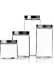 cheap -Kitchen Organization Food Storage Glass Easy to Use 1pc
