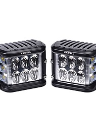 KAWELL Dual Side Shooter Led Cube 45W Led Work Light Off Road Led Light Bright for SUV Truck Car