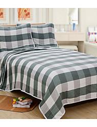 Недорогие -Одеяла, Полоски Полиэстер Сгущать одеяла