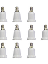 cheap -10pcs E14 to E27 E27 Light Socket Simple