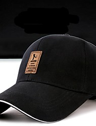 Men's Cotton Baseball Cap,Casual Solid Spring, Fall, Winter, Summer Stylish
