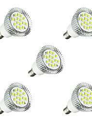 cheap -5pcs 3W 260-300 lm E14 LED Spotlight E14/E12 16 leds SMD 5630 LED Light Warm White White AC 220-240V