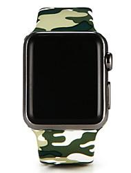 preiswerte -Uhrenarmband für Apple Watch Series 3 / 2 / 1 Apple Sport Band Silikon Handschlaufe