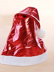 cheap -Holiday Santa Suit Hats Red Golden Cloth Cosplay Accessories Christmas