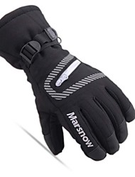 cheap -Winter Gloves Ski Gloves Unisex Full-finger Gloves Keep Warm Waterproof Skiing Winter Sports Nylon Ski / Snowboard Winter