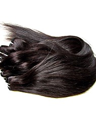 """Недорогие -Натуральные волосы Реми Пряди натуральных волос Реми Высокое качество 8""""~24"""" 12 месяцев 0.3 Повседневные Классика Прямой силуэт"""