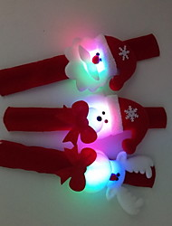 economico -3 pc / set giocattolo luminoso dell'anello di mano di natale