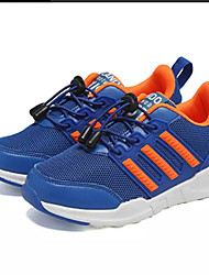 cheap -Boys' Shoes Tulle Spring / Fall Comfort Athletic Shoes Walking Shoes Lace-up for Black and White / Black / Red / Royal Blue