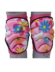 preiswerte -Kniebandage für Kinder Schutz Dehnbar Ski-Schutzausrüstung Skifahren Eislaufen Roller Skating Hochwertiger EVA-Schaum Mikrofaser Schwamm