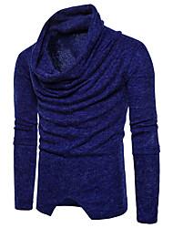 preiswerte -Herrn Arbeit Pullover-Solide,Reine Farbe Rollkragen