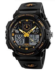 abordables -Hombre Cuarzo Reloj de Pulsera Reloj de Moda Chino Gran venta Silicona Banda Encanto Negro
