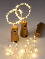 preiswerte -BRELONG® 1.5 Leuchtgirlanden 15 LEDs Rot / Gelb / Rosa Dekorativ / Weihnachtshochzeitsdekoration <5 V 1pc