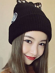 cheap -Women's Sweater Floppy Hat,Cute Casual Solid Winter Knitted