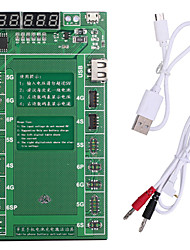 abordables -placa de carga de activación de la batería pofessional con cable micro usb para apple iphone 6 plus 5s 5 4s 4