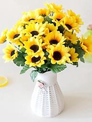 Недорогие -Искусственные Цветы 2 Филиал Пастораль Стиль Гортензии Букеты на стол