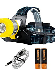 cheap -Boruit® B11 Headlamps LED 380 lm 3 Mode Cree XP-G2 R5 Professional Adjustable High Quality Camping/Hiking/Caving Everyday Use
