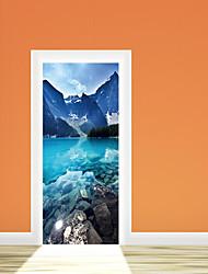 Недорогие -Романтика Наклейки Простые наклейки Декоративные наклейки на стены, Бумага Украшение дома Наклейка на стену Стена