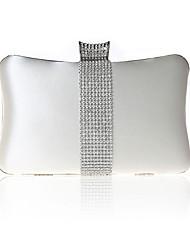 Недорогие -Жен. Кристаллы Satin Вечерняя сумочка Хрустальные сумочки из хрусталя Лиловый / Пурпурный / Винный