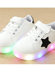cheap -Boys' Shoes PU Spring Fall Comfort Sneakers For Casual Pink Green Black White