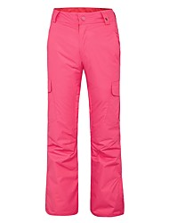 cheap -Women's Ski / Snow Pants Waterproof Thermal / Warm Windproof Breathability Hiking Snow sports Polyester