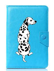 caja universal de la cubierta del soporte del cuero de la PU del perro para 7 pulgadas 8 pulgadas 9 pulgadas 10 pulgadas tablet pc