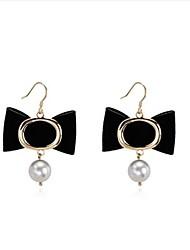 economico -Per donna Orecchini a goccia Perle finte Dolce Adorabile Lega A fiocchetto Gioielli Per Appuntamento