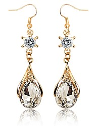 cheap -Women's Drop Earrings Crystal Rhinestone Classic Sweet Elegant Crystal Alloy Jewelry For Engagement Gift
