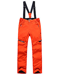 cheap -Phibee Men's Ski / Snow Pants Warm Waterproof Windproof Wearable Breathability Anti-static Ski / Snowboard Polyester