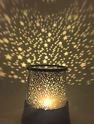 cheap -Starry Night Light Star Light LED Lighting Projector Lamp Bedroom Bed Light Toys Star Galaxy Girls' Boys' 1 Pieces