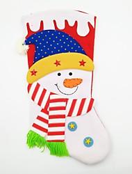 abordables -Accessoires de Célébrations Décorations de Noël Articles pour Célébrer Noël Jouets Chaussettes Bonhomme de neige Vacances Très Grand
